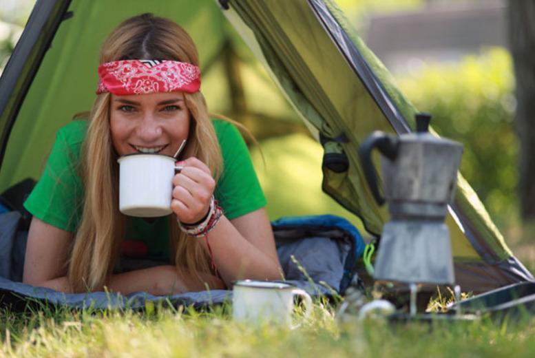 £9 for 1nt camping for a 2 person tent, £18 for a 4 person tent or £23 for a 4-6 person tent, from £18 for 2 nights at Medi Spa UK, Sheffield