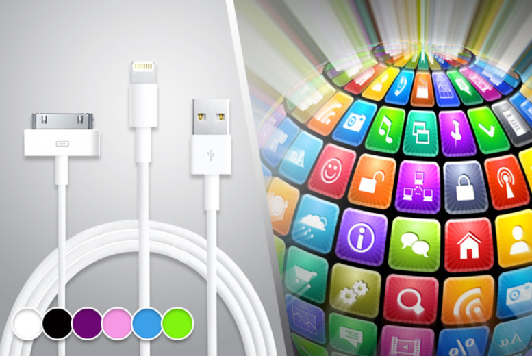 £4.99 (from Links 4) for a 3-metre 30-pin or 8-pin/Lightning iPhone data and charging cable, £8.99 for 2 cables, or £11.99 for 3 - save up to 58%