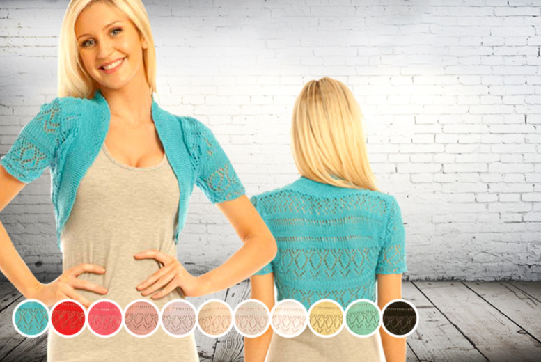 £6.99 instead of £14.99 (from iKrush) for a knitted shrug valid in a variety of colours - get the perfect summer cover up and save 53%
