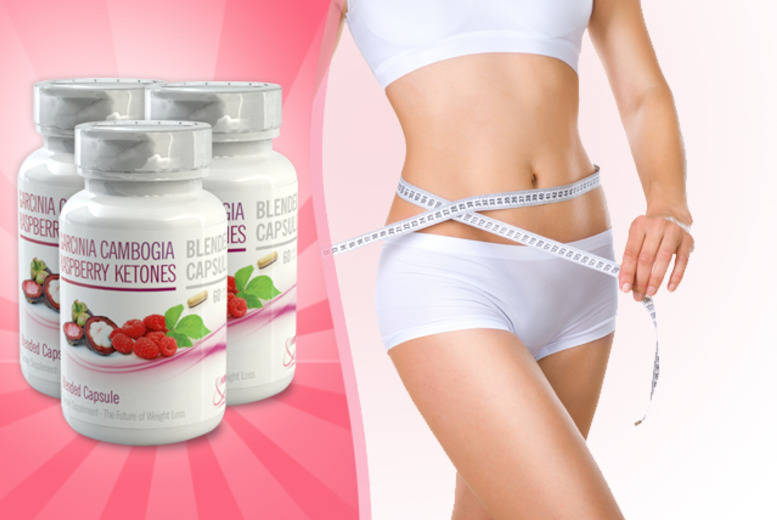 £24 instead of £119.97 (from GB Supplement) for a 3-month* supply of Raspberry Ketone & Garcinia Cambogia capsules - save 80% + DELIVERY INCLUDED