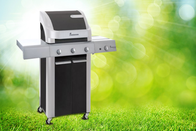 £279 instead of £399 for a Landmann Cronos 3-burner hooded gas barbecue from Wowcher Direct - save 30% + DELIVERY INCLUDED