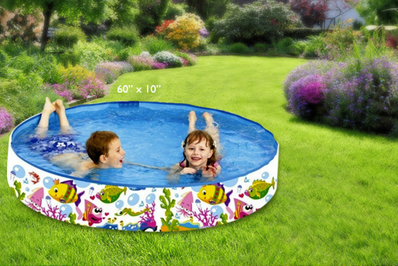 "£7.99 instead of £19.99 (from London Exchainstore) for a 48"" diameter kids' paddling pool, or £12.99 for a 60"" diameter pool - save up to 60%"