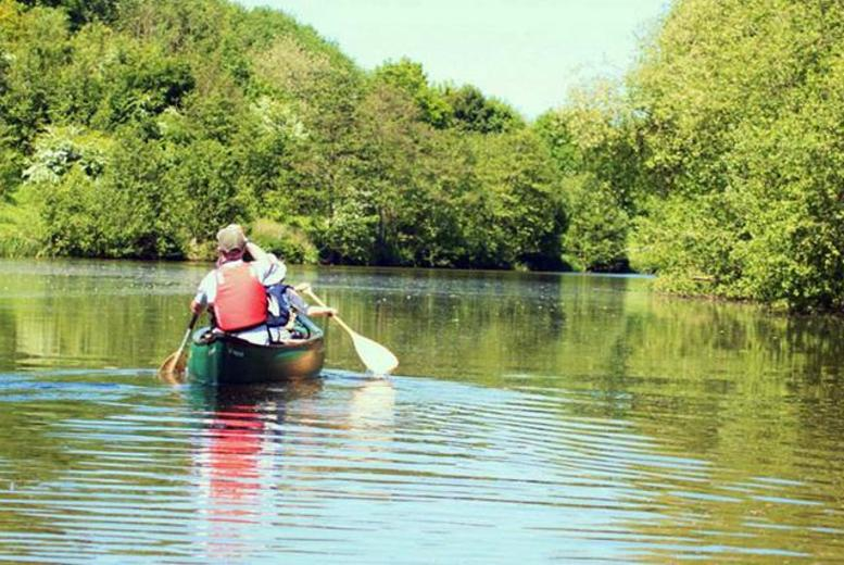 £99 instead of £280 (from Canoe Cheshire) for a 2-day canoeing and bushcraft experience - go wild and save 65%