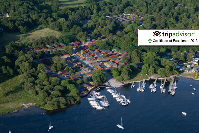 £169 (from White Cross Bay) for a 3-night weekend or 4-night weekday Lake Windermere self-catered caravan break for up to 6 people - save up to 60%