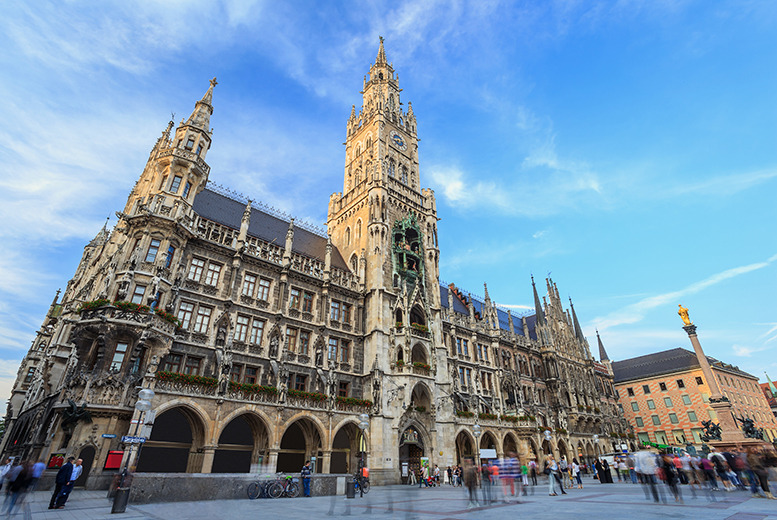 From £109pp (with iFly) for a 2-night Munich break with return flights and breakfast, or from £139pp for 3 nights - save up to 42%