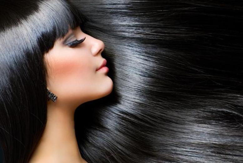 """£99 instead of up to £260 for a full head of 16"""" micro ring human hair extensions at Purple Rose Salon, Strawberry Hill - save up to 62%"""