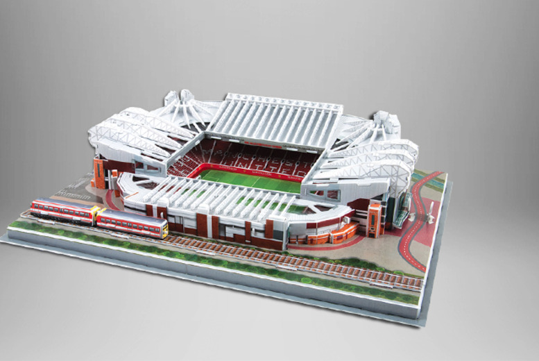 £14.99 instead of £24.99 for a choice of 3D football stadium puzzles from Wowcher Direct - save 40%