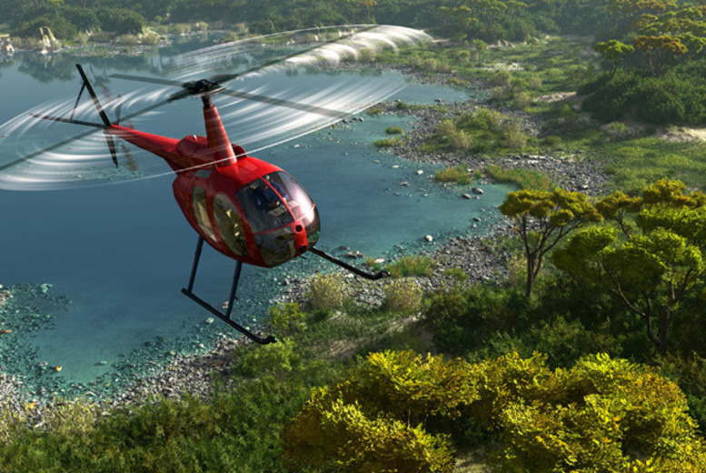 £59 (from Buy A Gift) for an up to 90-minute helicopter 'thrillseeker' experience inc. safety briefing and photo opportunity