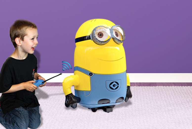 £29.99 instead of £38.99 for a Despicable Me radio control jumbo inflatable Minion from Wowcher Direct - save 23%