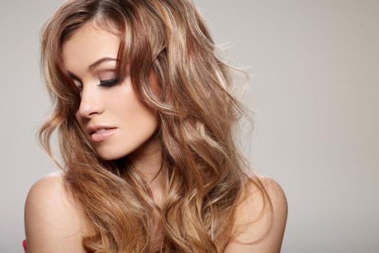 £29 for T-bar highlights or a full head of semi-permanent colour plus a wash, cut and blow dry at Burlingtons Boutique, Oxford Circus - save up to 80%