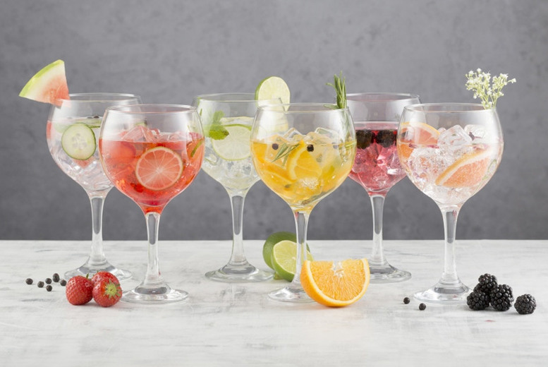 £10.99 instead of £14.99 for a set of six 65cl Ravenhead gin glasses, £19.99 for a pack of 12 or £32.99 for a pack of 24 from Mahahome - save up to 27%