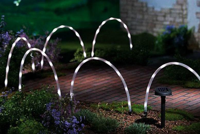 6 led bendy arc lights