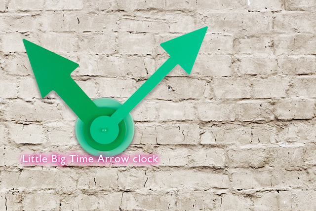 £20 for a Karlsson Little Big Time Arrow clock, £25 for a DIY Time Is Changing clock or £100 for a Matter of Time & Weather set - save up to 33%