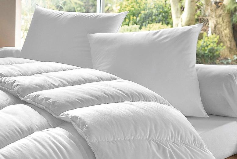 Image of Downland 13.5 Tog Duvet & Pillows Set   Living Social
