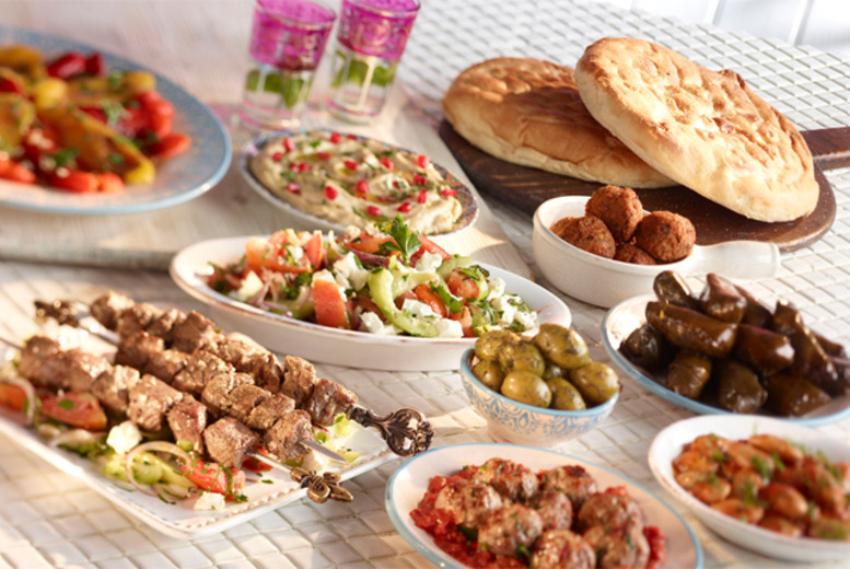 £19 instead of up to £50 for a 2-course Lebanese meal for 2 at Palmyra Restaurant in Kew Gardens, London - save up to 62%