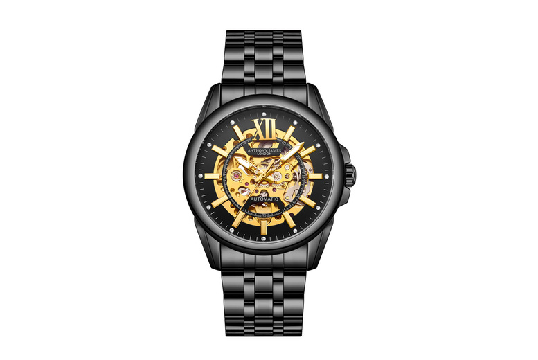 Image of Anthony James Limited Edition Mystique Watch | Silver | Living Social