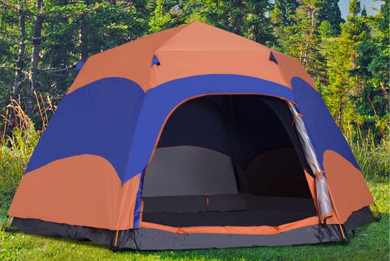 £119 for a pop-up 6 person camping tent from Mhstar Uk Ltd