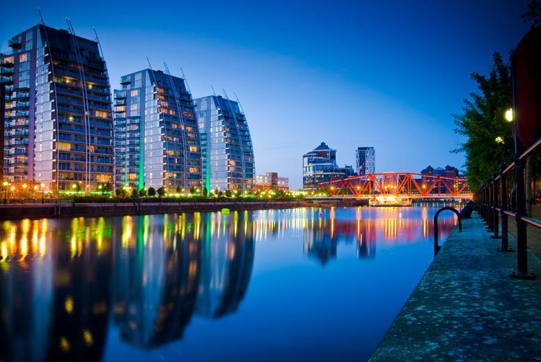 From £49 (at Britannia Hotel Manchester) for an executive overnight stay for 2 people inc. b'fast and wine, from £59 with a 3-course dinner - save up to 45%