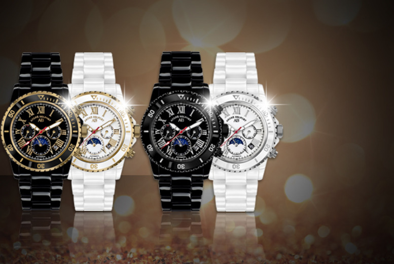 £249 instead of up to £2125.02 (from Kendor Van Noah) for an André Belfort 'Sirène' watch, valid in a variety of designs - save up to 88%