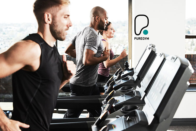 £5 instead of £49.95 for five non-consecutive day passes to Pure Gym - get fighting fit and save 90%