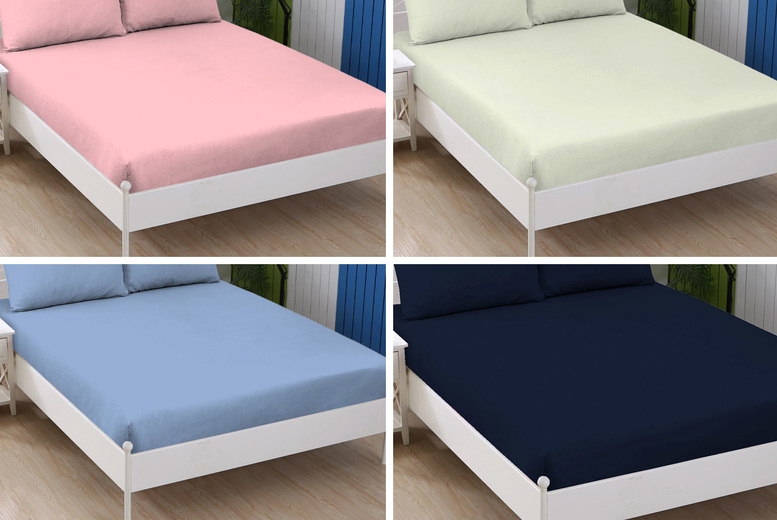 £7.99 instead of £14.99 for a single cotton Jersey fitted sheet, £10.99 for a double, £11.99 for a king or £12.99 for a super king from Home Decoration World! – save 46.70%