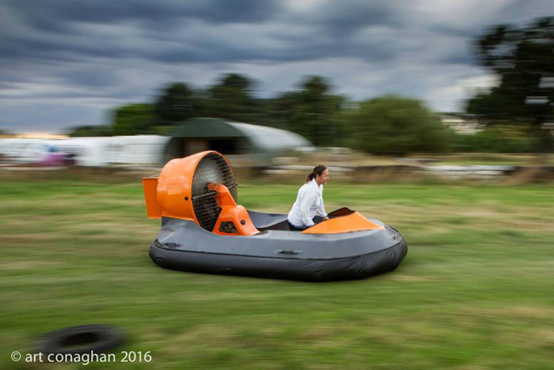 £39 instead of up to £79 for a 90-minute on-land hovercraft experience with High Cross Hovercraft - save up to 51%
