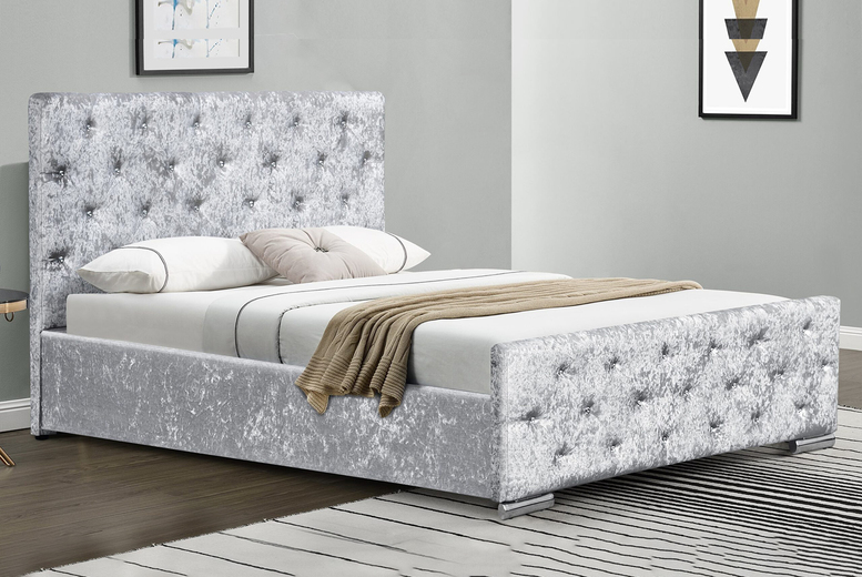 palma-diamante-sleigh-bed-frame