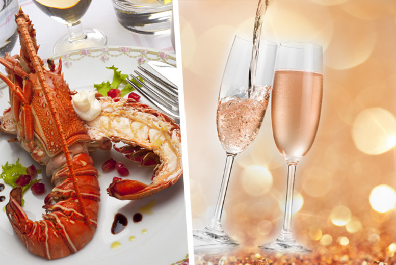 £30 for a 3-course lobster meal with a glass of Champagne, strawberry daiquiri and London skyline views at Lobster London, Westminster - save 46%