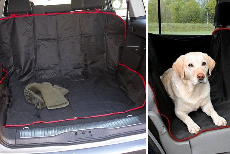 £5.99 instead of £19.99 for a seat and car boot liner protector from Vivo Mounts - save 70%