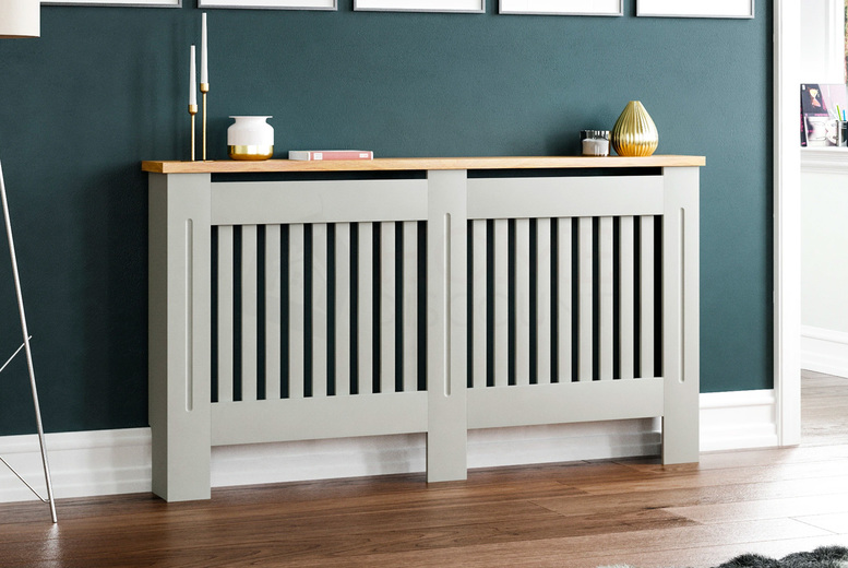 From £24.99 instead of £61.99 for a Vida Designs Arlington radiator cover in Small to Extra Large sizes from Home Discount! - Save 60%