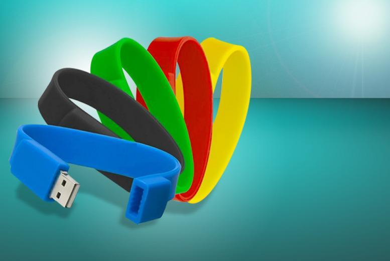 £6 instead of £24.99 (from Gizmo Gadgets) for a 4GB USB wristband in a choice of 5 colours, or £9 for an 8GB wristband - save up to 76%