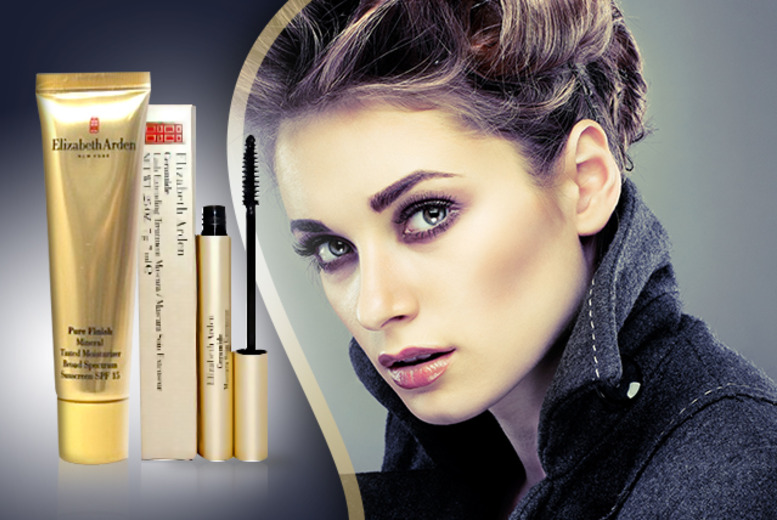£14.99 instead of £49 (from Look 'N' Style) for an Elizabeth Arden Ceramide Lash Extending mascara and tinted moisturiser - save 69%