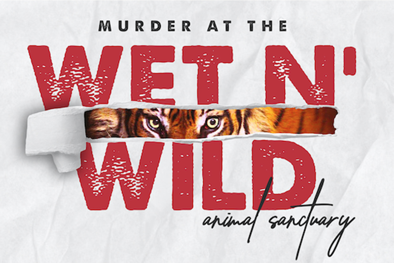 £10 for a downloadable inspired Tiger King-themed murder mystery game from Broadway Murder Mysteries - download the game, and uncover the truth of the Murder at the Wet