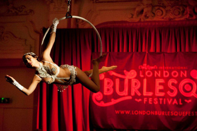£10 instead of £20 for a ticket to the Big Burlesque Day Out, or £15 for a ticket to the Red Carpet Rollout at the London Burlesque Fest - save 50%