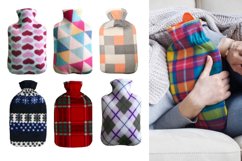 £5.99 for a large two litre hot water bottle from Ram Online Ltd!