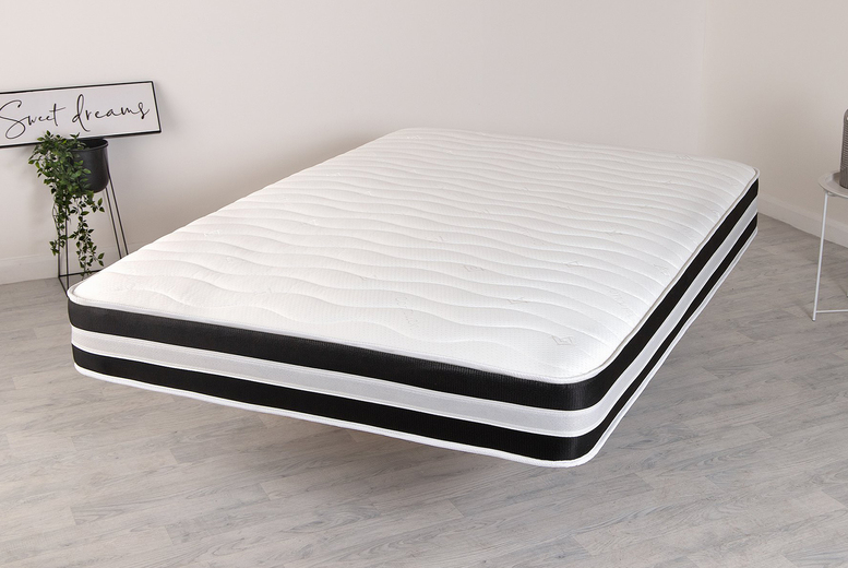 £59 for a 3D quilted memory foam sprung mattress from Desire Beds – save up to 63%