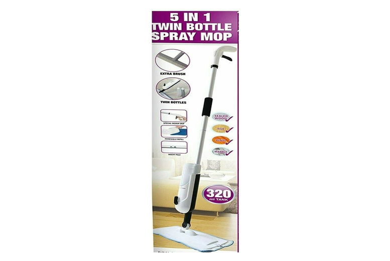 Image of Twin Bottle Spray Mop   Living Social