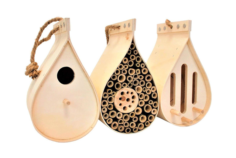 Image of Bug Hotel, Butterfly House & Bird Box   Living Social