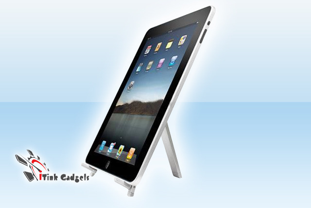 £8.99 instead of £35.99 (from I Think Gadgets) for a foldable, aluminium tablet or iPad stand – save an out-stand-ing 75%