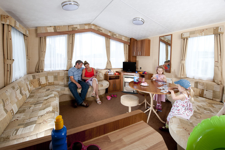 £149 (with John Fowler Holiday Parks) for a 3-night May half term weekend break for up to 6 people at a choice of