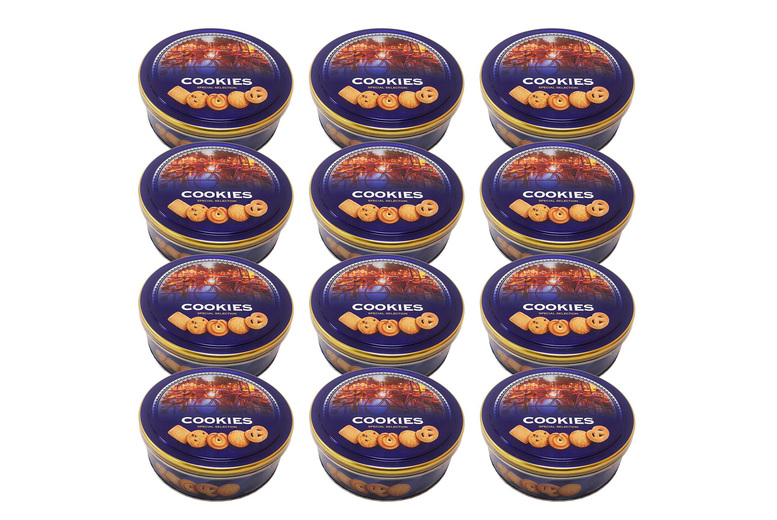 Image of 12 Cookie Tins   Living Social