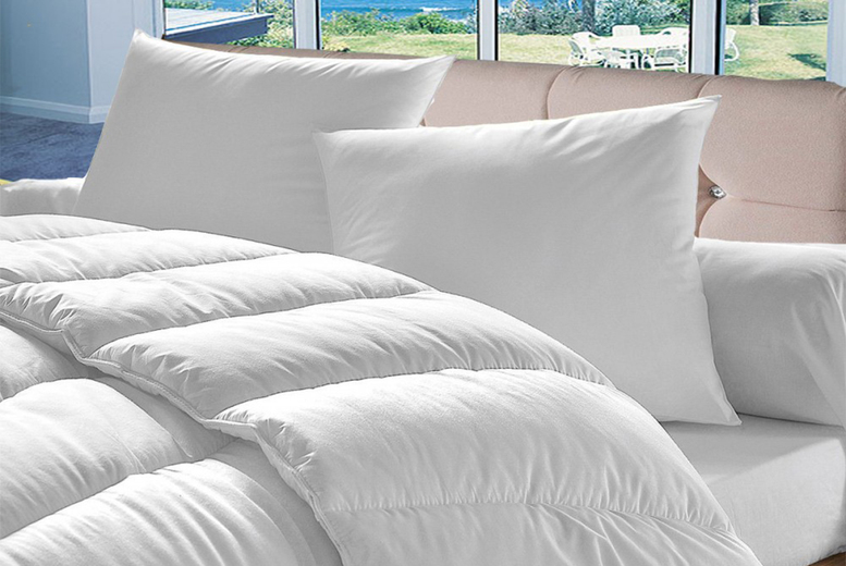 From £11.99 instead of £29.99 for a single 10.5 tog summer duvet from Direct Warehouse – choose your size and save up to 60%