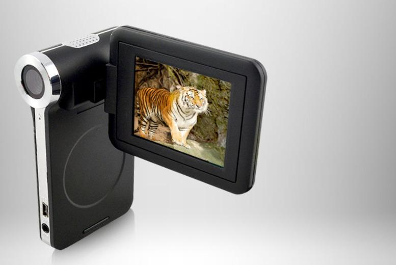 £27 instead of £99.99 (from Chimp Electronics) for a slimline 12MP digital video camera - save 73%