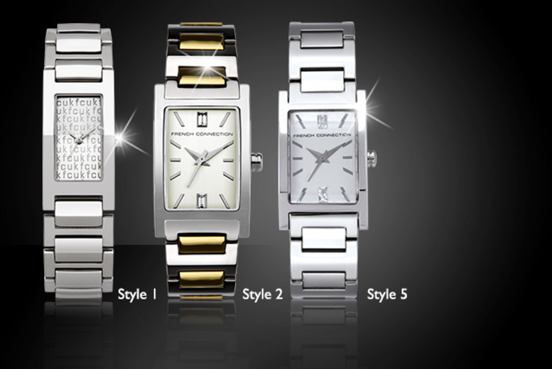 From £30 instead of up to £70 for an FCUK watch in a range of ladies' analogue styles from Wowcher Direct - save up to 57%
