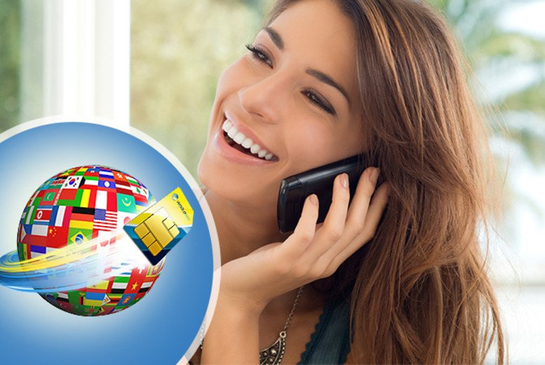 £8 instead of £29.99 (from WorldSIM) for a travel SIM card with free international roaming and £10 credit - save 73%