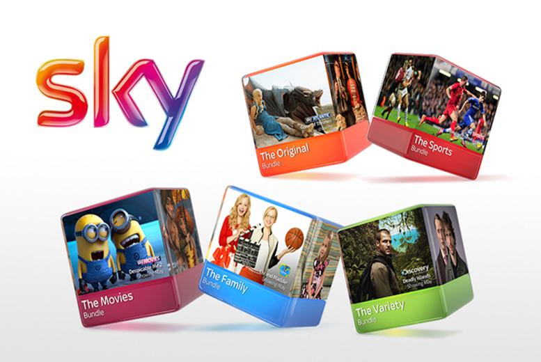£9 (from Sky) for 50% off a 12-month Sky+HD Original,Variety, Family, Movies or Sports Bundle!