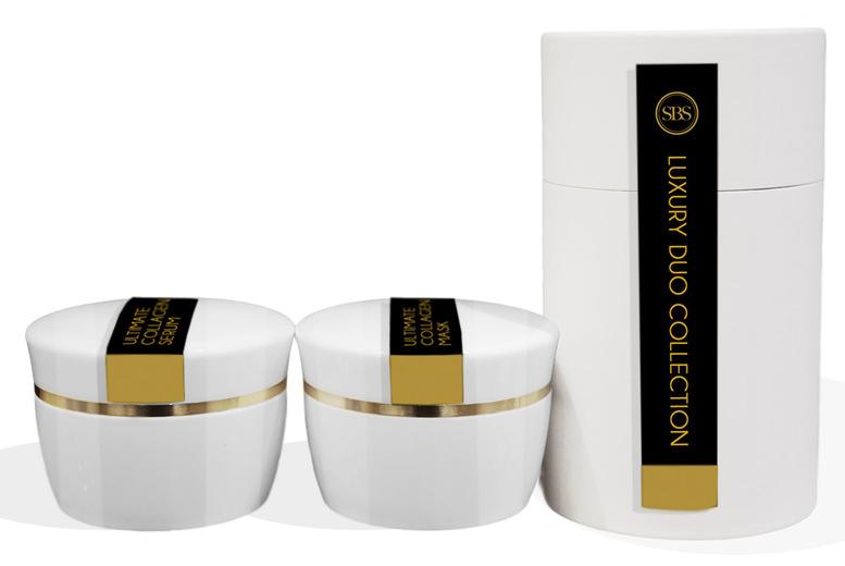 Image of Collagen Serum & Collagen 50Ml Mask Set | Living Social