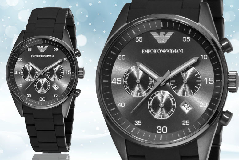 £119 instead of £342.01 (from Gray Kingdom) for an Emporio Armani watch – save 65%