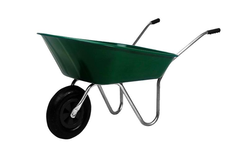 Image of 65L Galvanised Wheelbarrow   Living Social