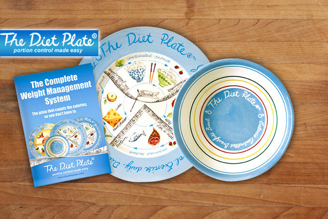 £19.99 instead of £39.98 (from The Diet Plate) for a Diet Plate Complete Weight Management System - perfect those portions & save 50%